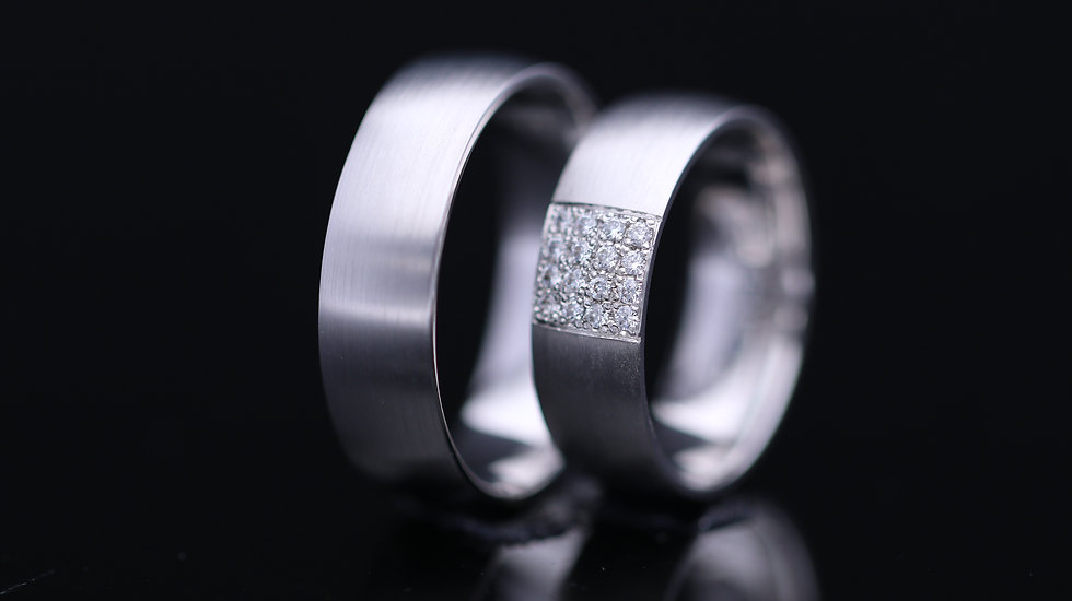Svadobné obrúčky / Wedding rings R139 / VIDEO / Cena s DPH