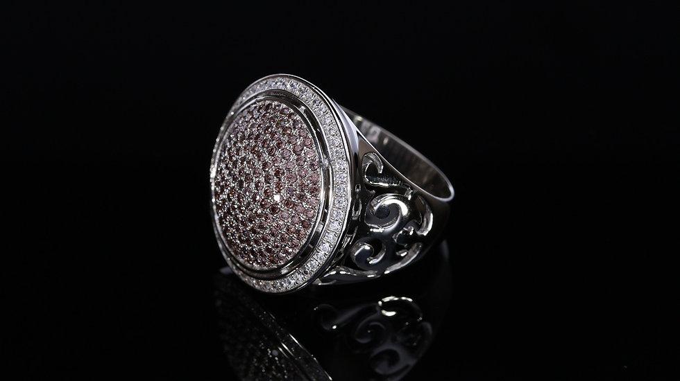 Brilantný  Orient dámsky strieborný prsteň