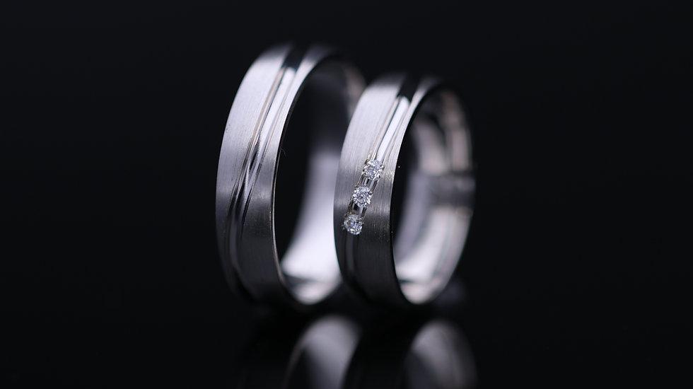 Svadobné obrúčky / Wedding rings L14 / VIDEO / Cena s DPH