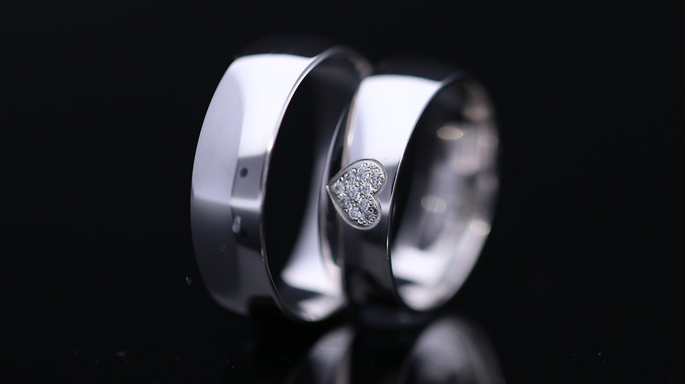 Svadobné obrúčky / Wedding rings L113 / VIDEO / Cena s DPH