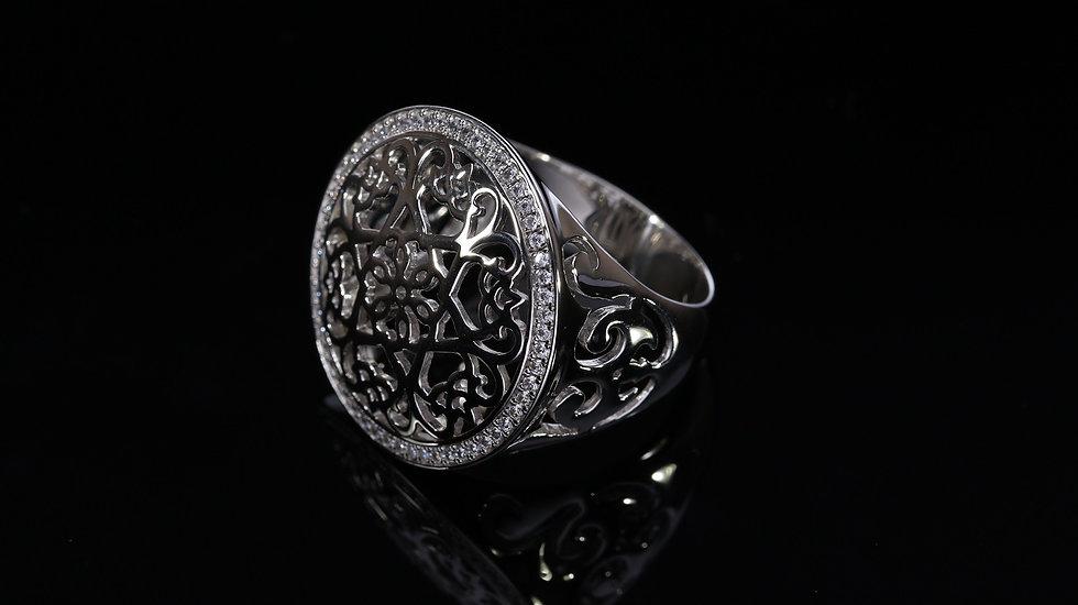 Brilantný Orin Orient dámsky strieborný prsteň