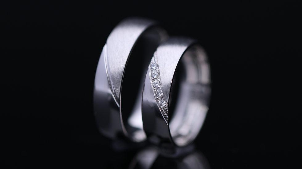 Svadobné obrúčky / Wedding rings L110 / VIDEO / Cena s DPH