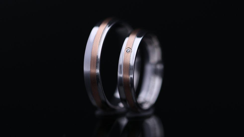 Svadobné obrúčky / Wedding rings R232 / VIDEO / Cena s DPH