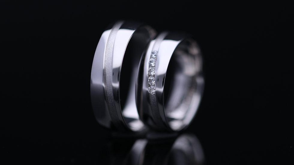 Svadobné obrúčky / Wedding rings L20 / VIDEO / Cena s DPH