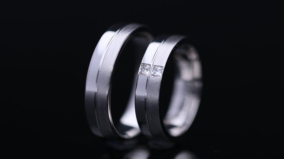 Svadobné obrúčky / Wedding rings R114 / VIDEO / Cena s DPH
