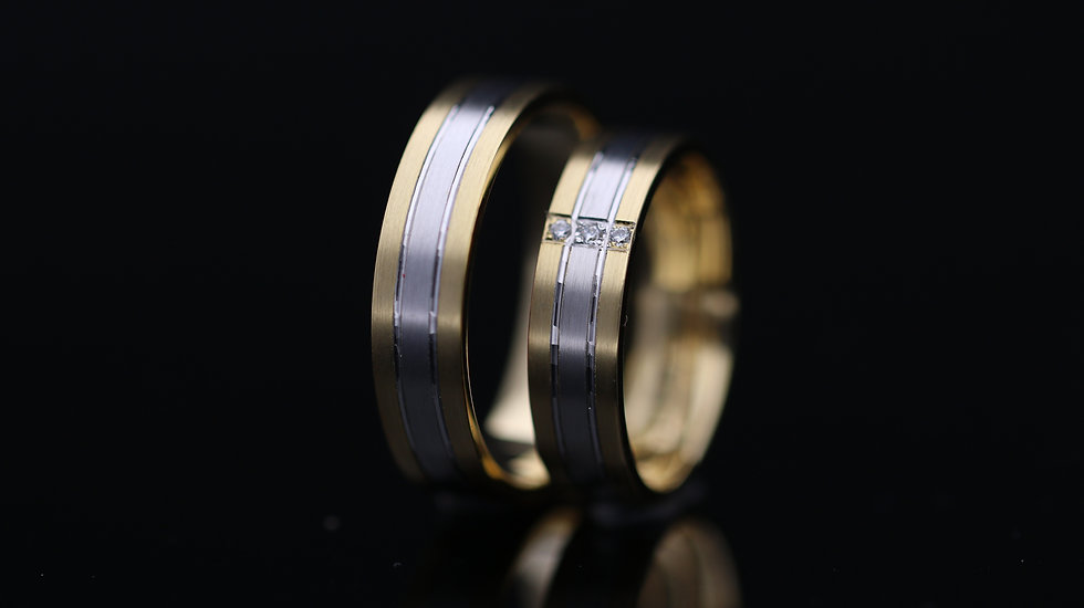 Svadobné obrúčky / Wedding rings L7 / VIDEO / Cena s DPH