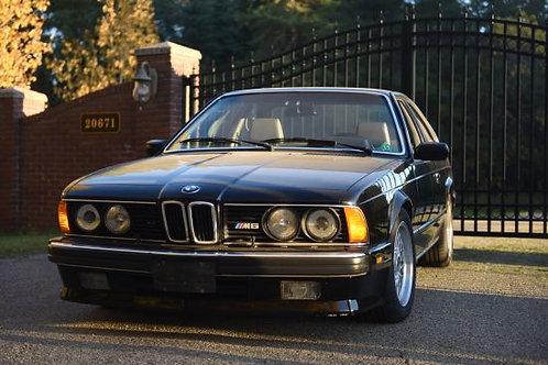 1988 BMW M6 - ORIGINAL DOCUMENTATION