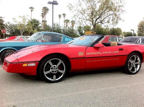 1987 Corvette Indy Pace Car