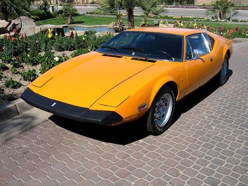 "1974 De Tomaso Pantera -  ""Worlds Finest"""