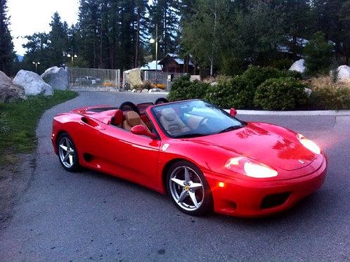 2003 Ferrari F360 Spider