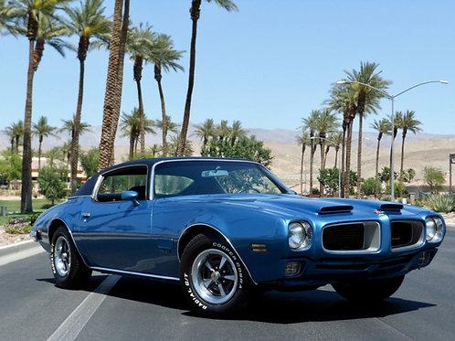 1971Firebird Blue