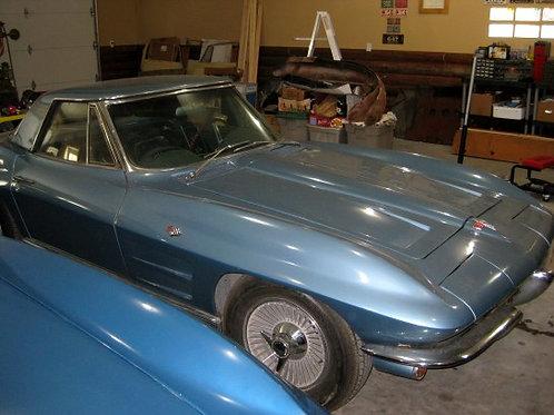 1964 Corvette Roadster L76 4 Speed