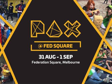 PAX @ Fed Square