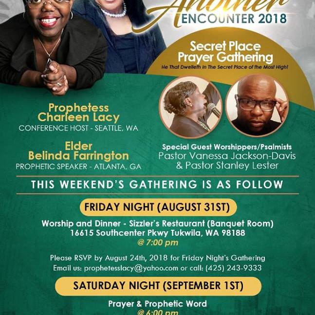 Another Encounter 2018 Secret Place Prayer Gathering