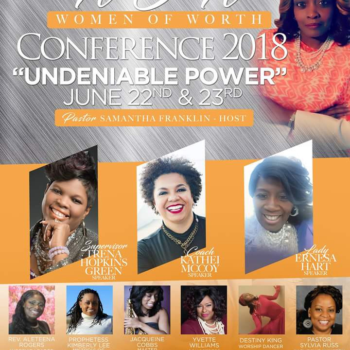 """W.O.W Conference 2018 """"UNDENIABLE POWER"""""""