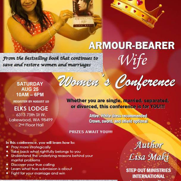 Armbour-Bearer Wife Womens Conference
