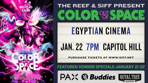THE REEF & SIFF PRESENT – THE COLOR OUT OF SPACE