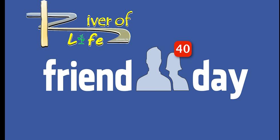 Church Friend Day