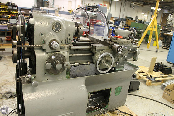 Monarch Lathe Spindle Control
