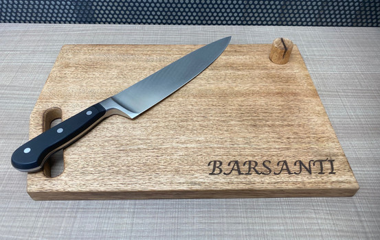 Wooden Cutting Board Engraving