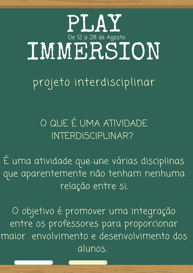 play immersion escola evolutiva