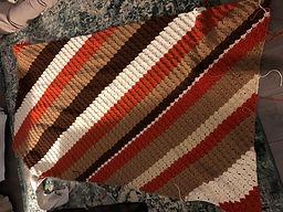 Cathie Jones - Corner to Corner blanket