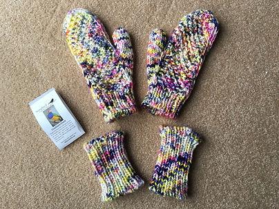 Krissy Budny - Cindersmoke mittens and 1