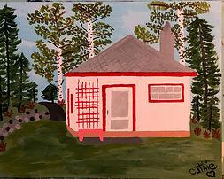 Cathie Jones - Childhood cottage paintin
