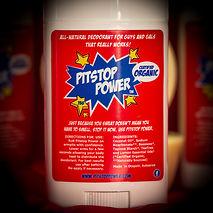 Pitstop Power Organic Deodorant