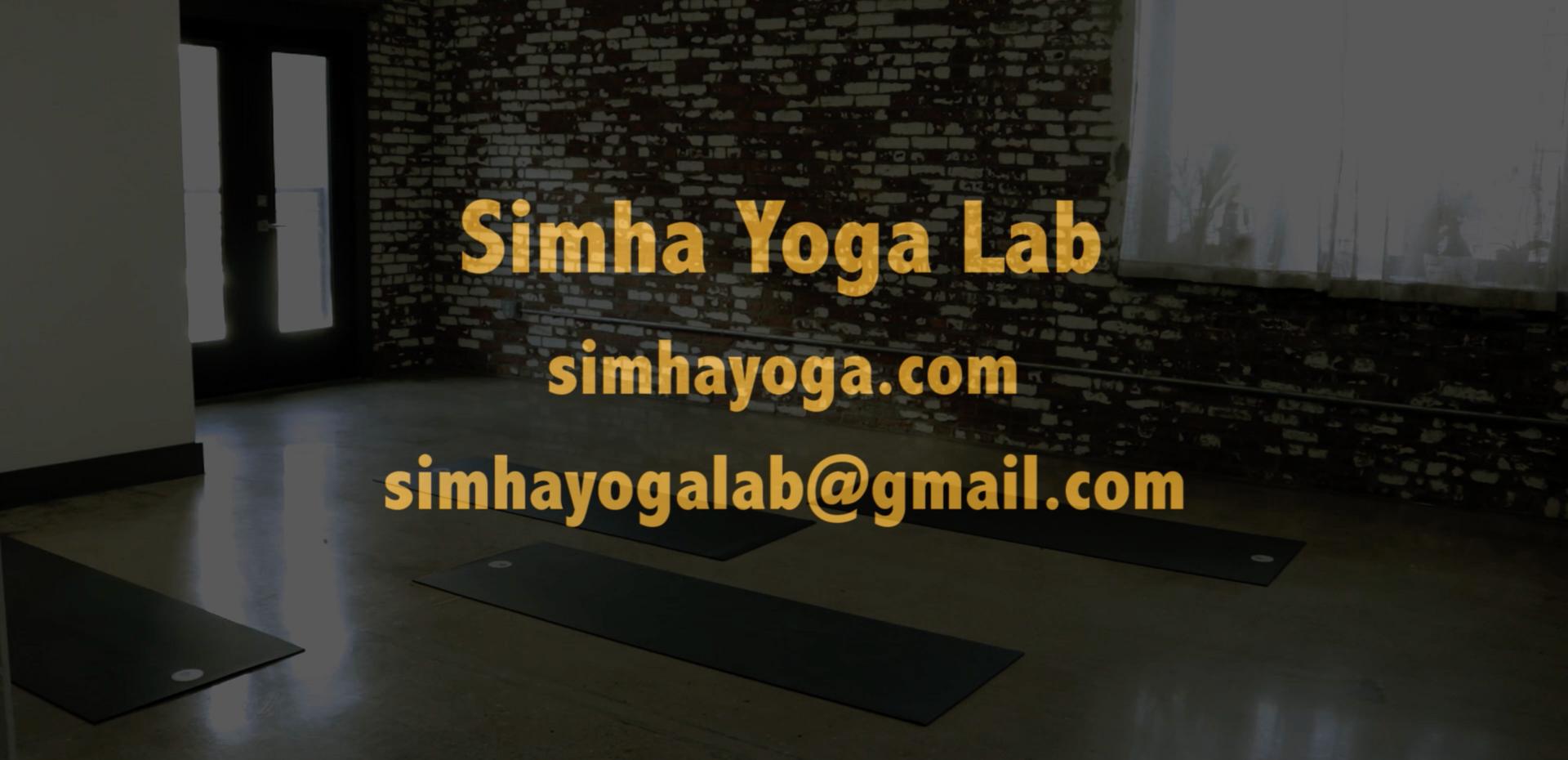 Simha Yoga Lab - 30 Sec Spot