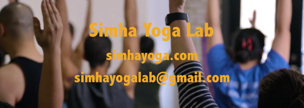 Simha Yoga Lab - Class With Steven Cheng
