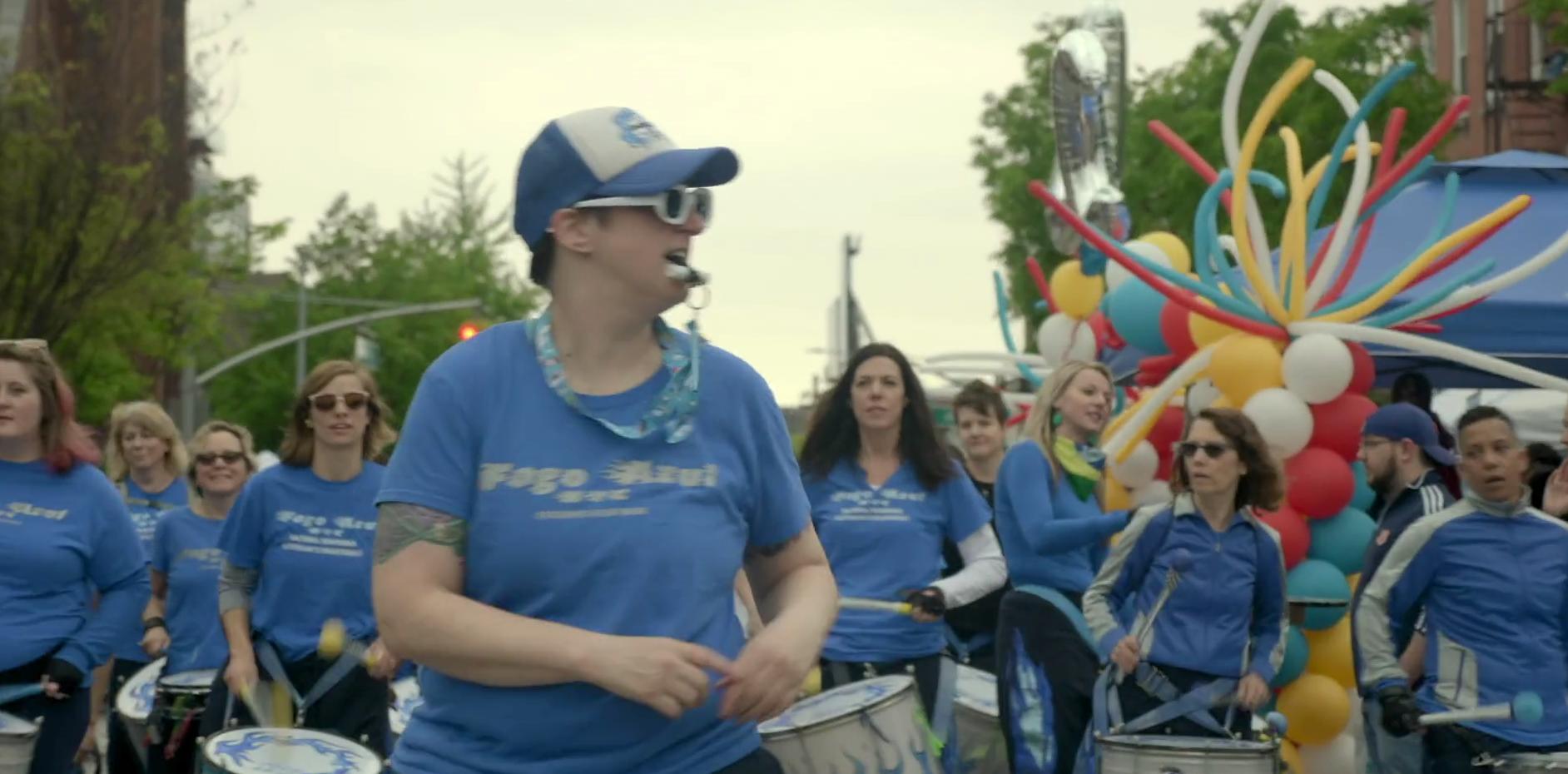 Fogo Azul - Long Island City Performance
