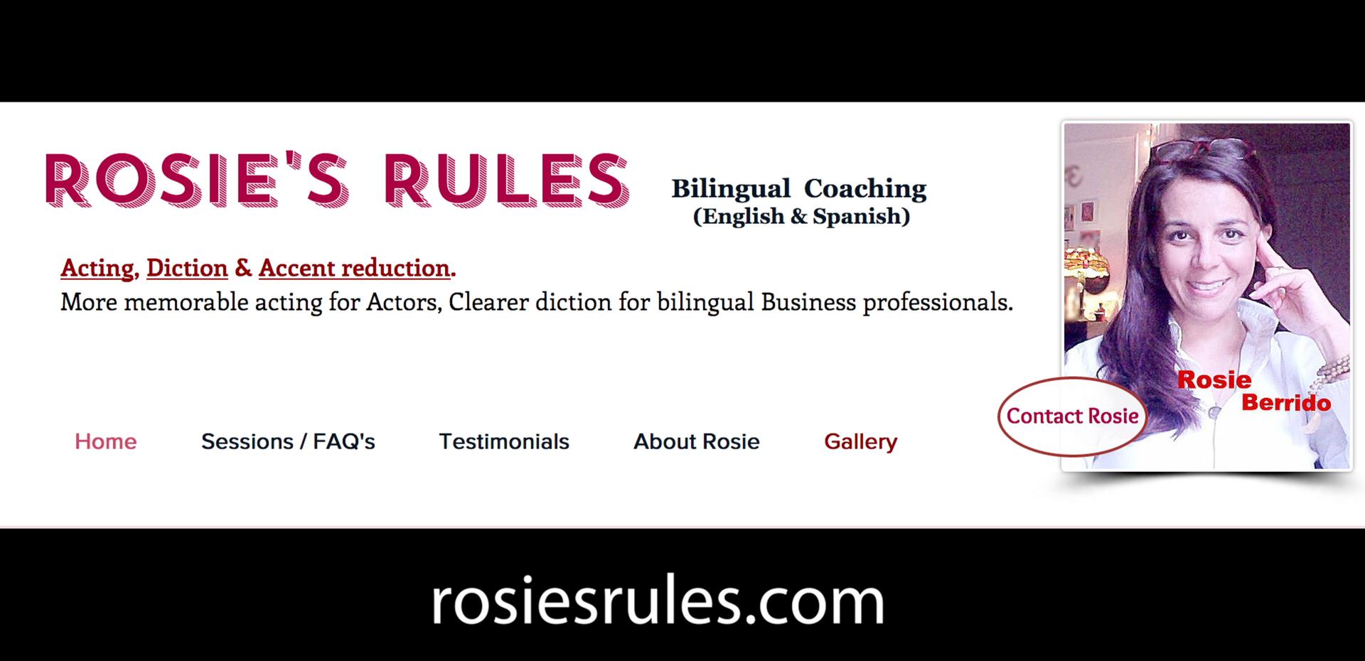 Rosie's Rules - Bilingual Coaching