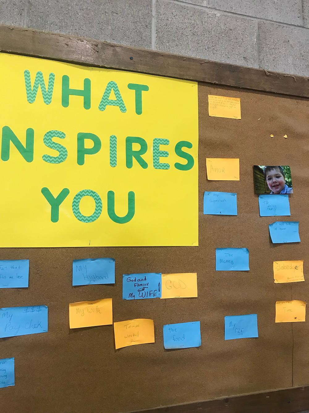 Company Bulletin Boards Inspire Team Morale