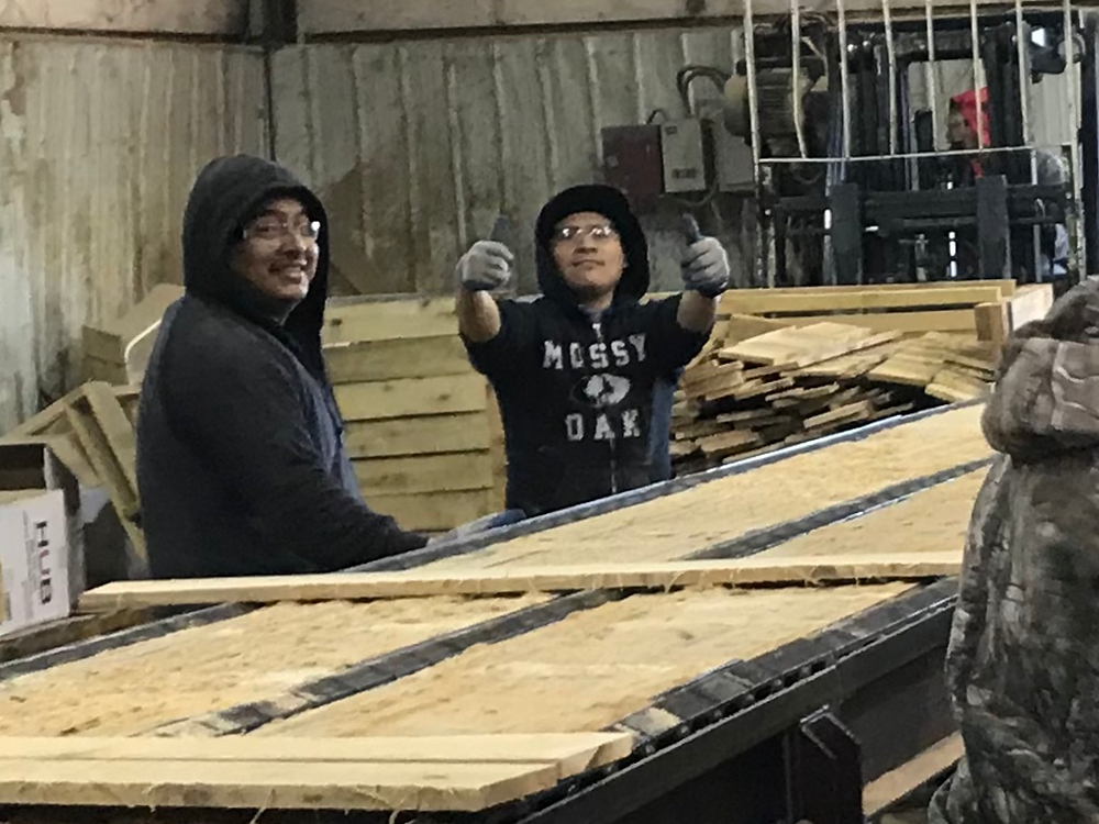 Team Work Makes Wood Manufacturing Dreams Work