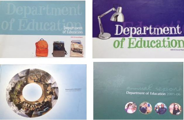 Multiple Annual Reports for the Department of Education