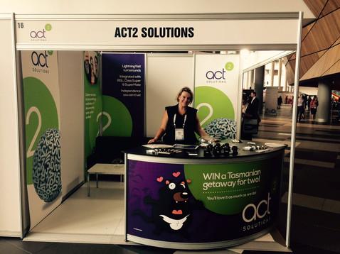 Branding & Tradeshow Presence for Act2