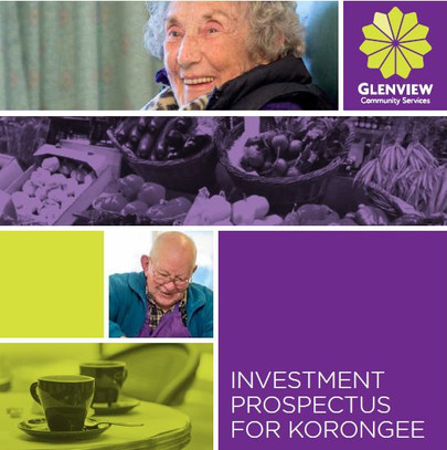 Investment Prospectus for Glenview Community Services