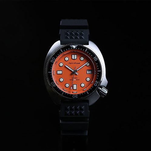 Orange Collectible 6105-8000 slim diver's watch