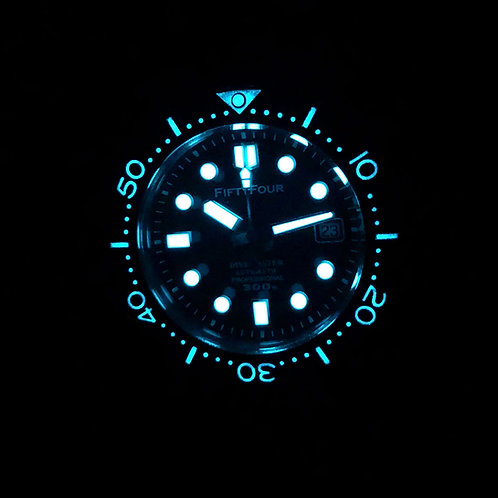 Lume Ceramic Insert MM300 Marinemaster Homage