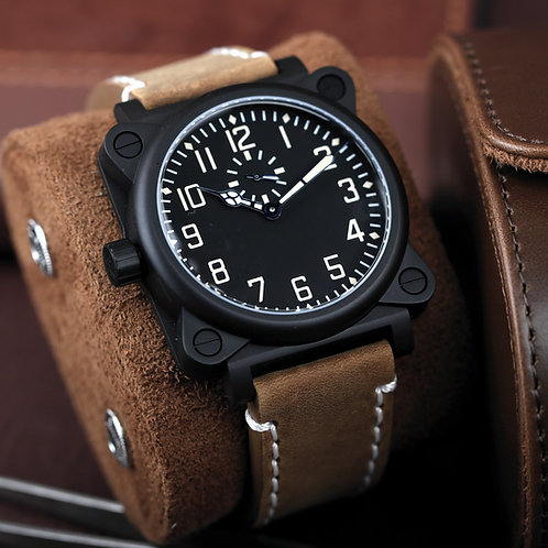 Torsten Nagengast Timeline I16 Aviator One Military Swiss Automatic 44mm