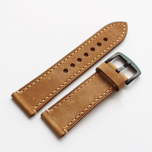 23 MM handmade cow leather strap suitable for Tutor 79250