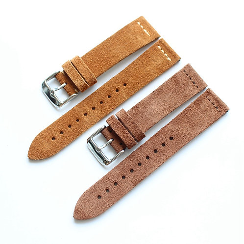 Vintage leather strap handmade 20mm 22mm soft watch strap