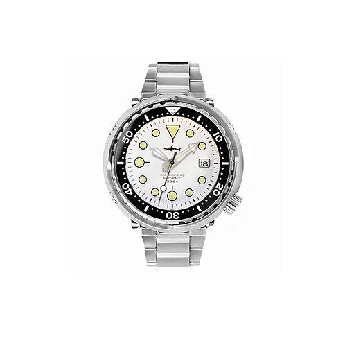 Tuna Can Diver Automatic Wristwatch MarineMaster NH35 SBBN015 Skull Japan
