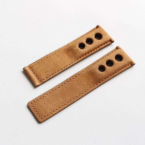 24mm handmade leather strap