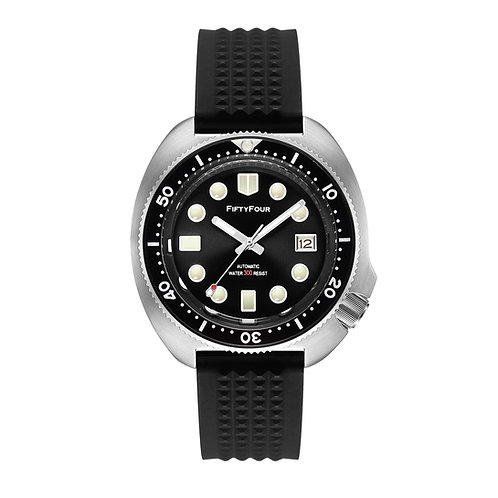 FF 6105-8110 Stainless steel tribute diver watch automatic movement