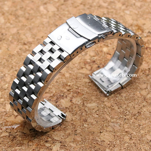20mm SUPER Engineer Type II Stainless Steel Straight End Metal Watch Bracelet
