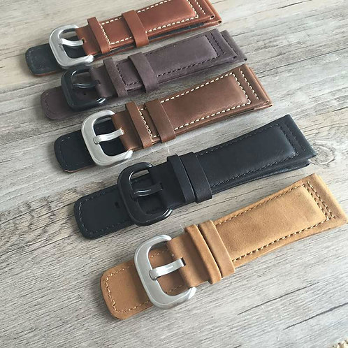 28MM Seven Friday leather strap