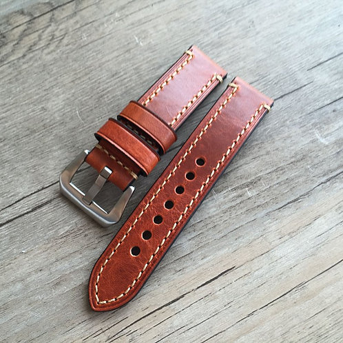 20 22 24 26mm genuine leather strap for Panerai watch