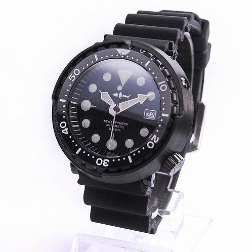BLACK SEIKO SBBN017 Modified NH35A mechncial man diver watches